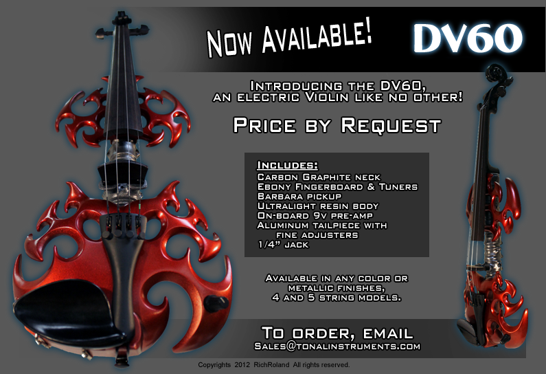 The DV60 - A wicked violin