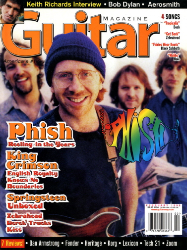 Guitar Magazine '99 Phish Issue cover