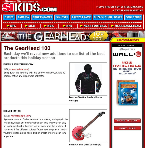 Sports Illustrated Kids Gearheads